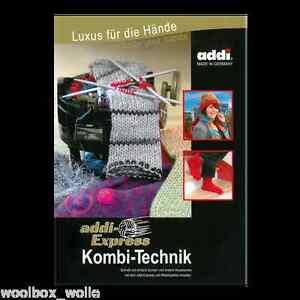 addi-Buch / Anleitungsbuch: Kombi-Technik - Socken stricken mit dem addi-Express