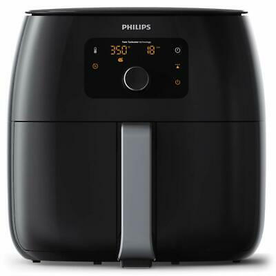 Philips Digital Airfryer XXL, Twin TurboStar Technology, HD9650/96, Black