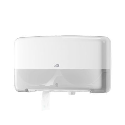 Tork Twin Mini Jumbo Bath Tissue Roll Dispenser SCA 5555200 ADA Compliant (Twin Jumbo Bath Tissue)