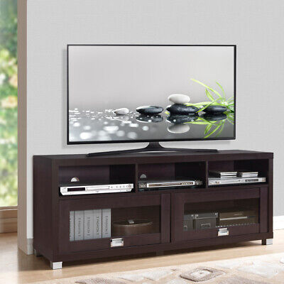 Console Home Entertainment Center - TV STAND 65 INCH FLAT SCREEN Home Furniture Entertainment Media Console Center