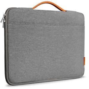 Inateck Laptoptasche für 14 Zoll Laptops / Notebooks / MacBook, Dunkelgrau