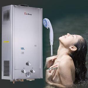 18L GAS LPG STAINLESS PROPANE TANKLESS INSTANT HOT WATER HEATER BOILER