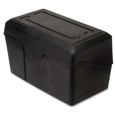 Advantus Index Card Holders 4x6 Black 45002