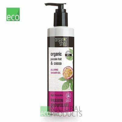 - Organic Shop Shower Gel Alluring Passion Fruit & Cocoa 280ml