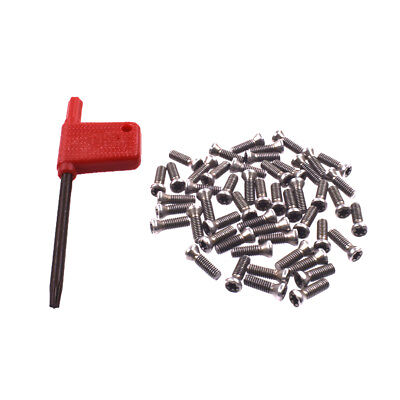 New 50pcs Insert Torx Screw For Carbide Inserts Lathe Tool M3.5 X 12mm Wrench