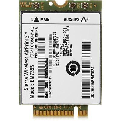 NEW HP lt4111 -Wireless cellular modem - PART# E5M75UT#ABA - WWAN card Hp Wireless Modems
