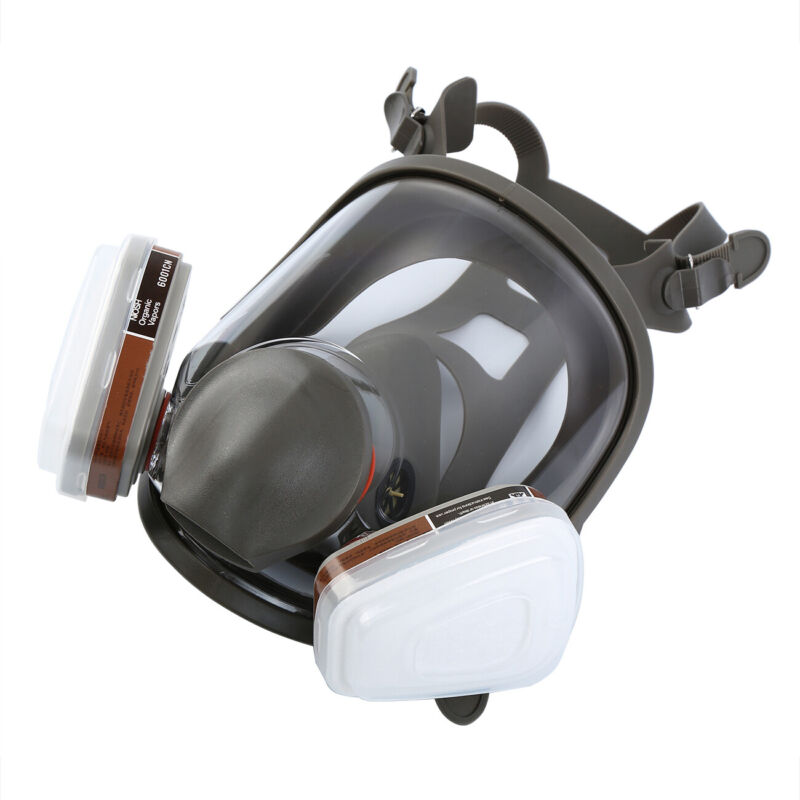 15 in 1 Full Face Facepiece Gas Mask Filter Respirator Paint