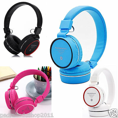 PDR*CUFFIE WIRELESS BLUETOOTH STEREO AURICOLARE VIVAVOCE MICROFONO IPHONESAMSUNG
