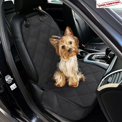 Luxury Pet Car SUV Van Front Seat Cover Waterproof Hammock for Dog Cat Nonslip