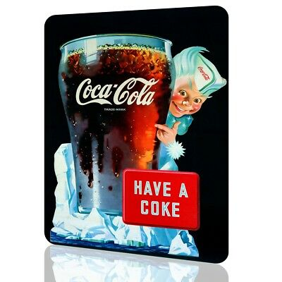 Metal Sign COCA COLA Classic Poster HAVE A COKE Retro Vintage Advertisement ART
