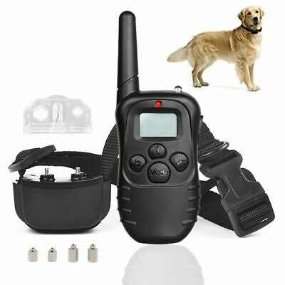 Dog Shock Collar With Remote Waterproof Electric for Large 328 Yard Pet Training