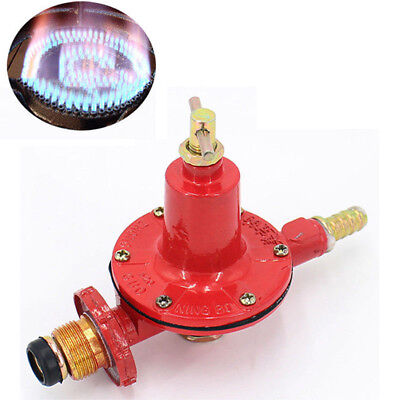 Lpg Regulator - Propane Regulator High Pressure LP LPG BBQ Gas Burner Valve 0-30PSI Adjustable