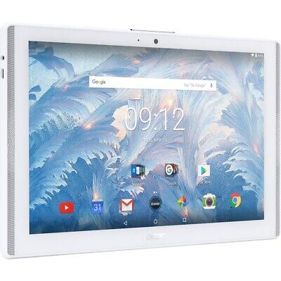 """REFURBISHED Acer Iconia One 10 / B3-A40 (WHITE) 10.1"""" Tablet / Android 7.0"""
