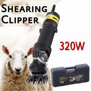 320W-SHEEP-GOATS-SHEARING-CLIPPER-SHEARS-UK-Plug-With-Case-UK-Plug