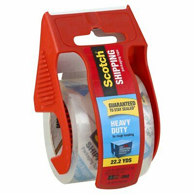 3m Scotch Heavy Duty Shipping Packaging Tape Dispenser - Pick Your Own Of Tape