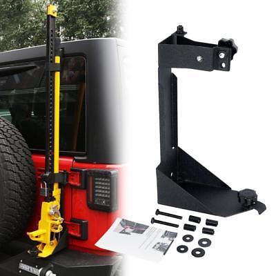 Off-Road Hi-Lift Hood Jack Mount Tailgate Bracket for 2007-2017 Jeep Wrangler JK