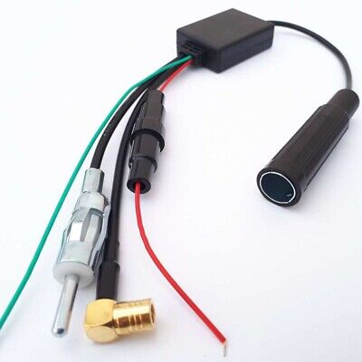 ✅ DAB Antenne Adapter Spliter Aktiv für Autoradio Kfz Pkw DAB+ Digital SMB  ✅