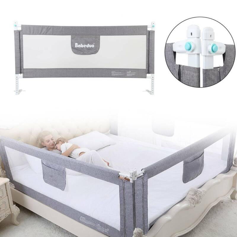 1.77M Baby Guard Bed Rail Toddler Safety Adjustable Kids Inf