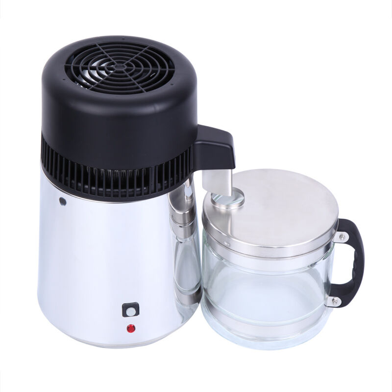 4l 750w water distiller portable 304 stainless