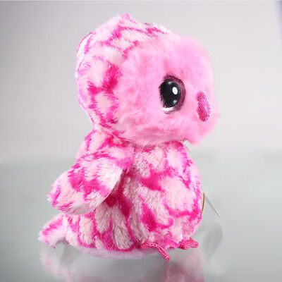 """6""""Beanie Boos Glitter Eyes Plush Stuffed Animals Toy Kids Xmas Gift (With tags)A"""