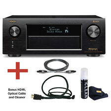 Denon AVR-X4300H 9.2 Channel 4K Ultra HD AV Receiver with Bluetooth Bundle.