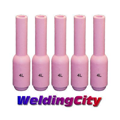 """10N50L 4L Alumina Nozzle Cup 1/""""27//32 fit TIG weld Torch WP-17 18 WP-26 PK//10"""