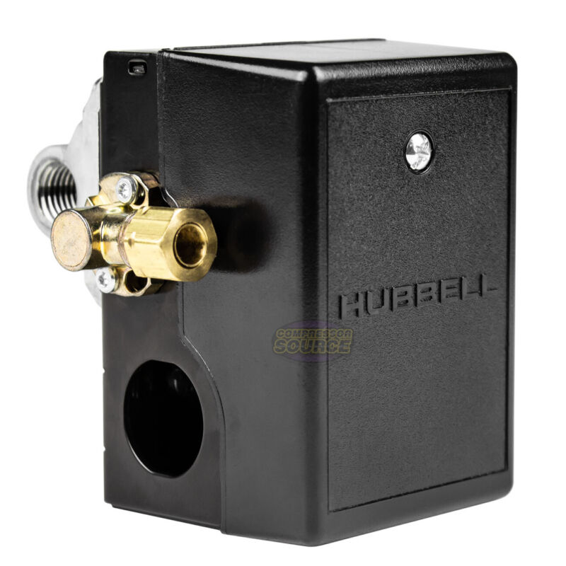 Hubbell 69JF9LY2C Furnas Air Compressor Pressure Switch Control Valve 140-175PSI