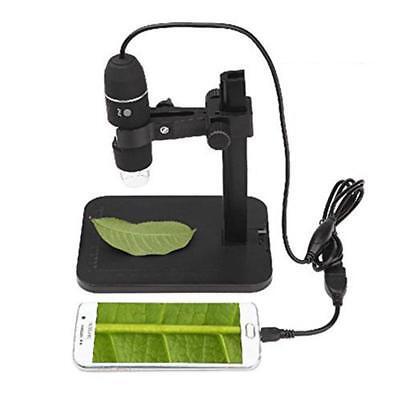 2mp Usb 1000x 8 Led Digital Microscope Endoscope Magnifier Cameralift Stand