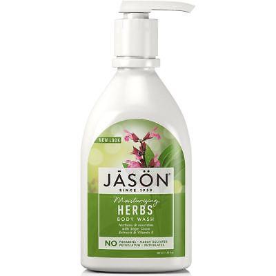 💚 Jason Natural Body Wash Moisturizing Herbs 887 ml