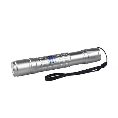 50Miles 405nm 1MW Blue Laser Pointer Pen Visible Beam +18650 Battery&Charger USA