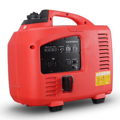 Portable Quiet Lightweight Generator Inverter Camping Gasoline EPA CARB, 2000W