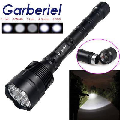 Tactical Super Bright 200000Lumens 14 X T6 LED Flashlight Torch 5-Mode for 18650 (14 Super Bright Led Flashlight)