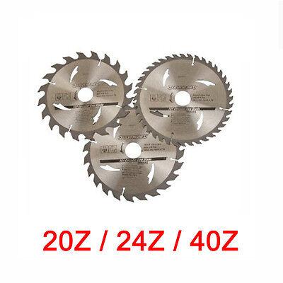Hartmetall Sägeblatt Set 190 x 30 mm Z20 Z24 Z40 für BOSCH PKS 66 und GKS 65