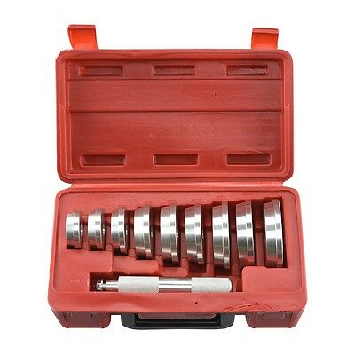 10pc Bearing Race Seal Driver Tool MASTER Set with Storage Case Wheel Axle, used for sale  Shipping to India
