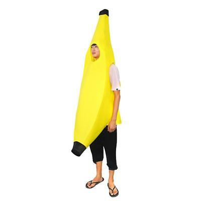 Banana Costume Adult Fancy Dress Fruit Outfor Hen Stag Comedy Funny Suit - Adult Fruit Costume