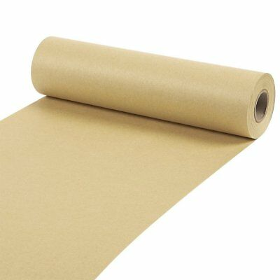 """Brown Kraft Paper Roll Packaging Gift Wrapping Shipping Fill 10""""X 1200"""" 100 Feet"""