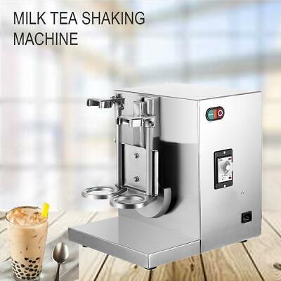 120w 110v Double-cup Bubble Boba Milk Tea Shaker Shaking Machine Mixer Automatic
