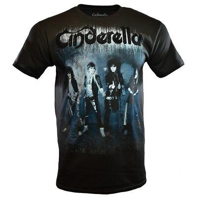 80s Metal Rock - CINDERELLA Mens Tee T Shirt 80s Rock Band Music Concert Tour Live Metal NEW
