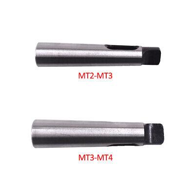 2pcs Mt2-mt3 Mt3-mt4 Morse Taper Adapter Reducing Drill Chuck Sleeve