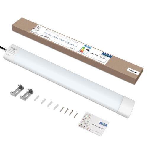 18-42W LED Wannenleuchte Feuchtraumlampe Deckenleuchte Werkstatt Keller Röhre