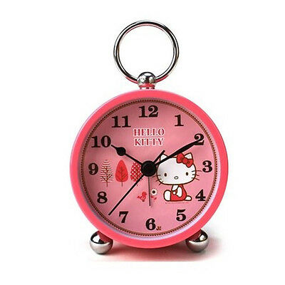Hello Kitty Watch Desk Table Clock Alarm Watch Analog Clock Low noise