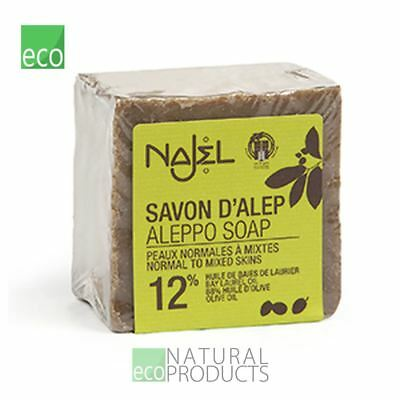 Najel Traditional Natural Aleppo Soap Laurel 12% Normal to Mixed Skin 170g