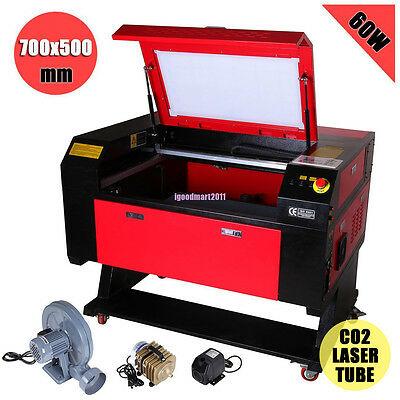 Red Dot 60w Co2 Usb Laser Cutter Engraver Updown Table Engraving Machine Dsp