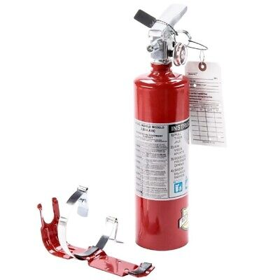 4 2.5 Lb Fire Extinguisher Abc Dry Chemical Rechargeable Dot Vehicle Bracket Ul