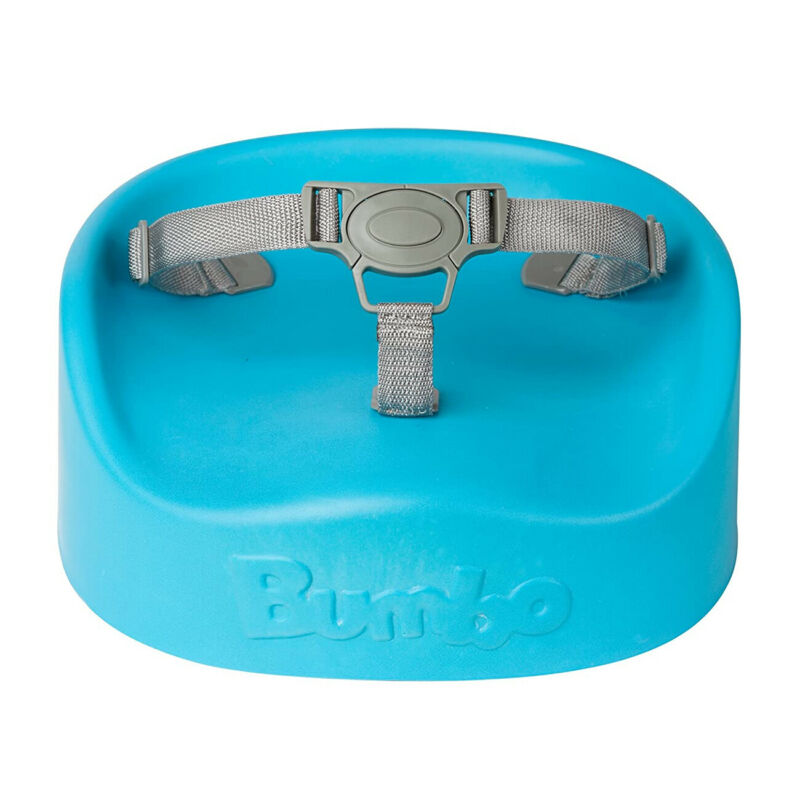 Bumbo Baby Childrens Toddler Infant Soft Portable Dining Booster Seat, Blue