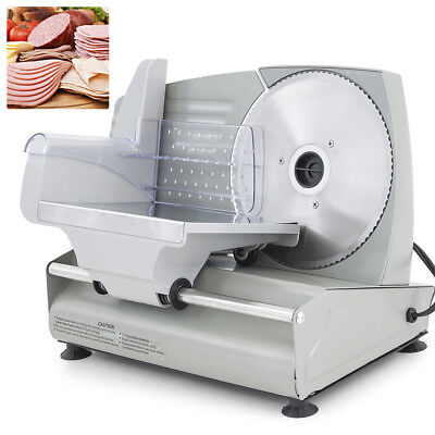New 7.5 Electric Meat Slicer Blade Home Deli Food Slicer Veggie Premium Kitchen