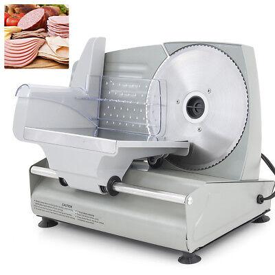 New 7.5 Electric Meat Slicer Blade Home Deli Food Slicer Veggie Premium Kitchen