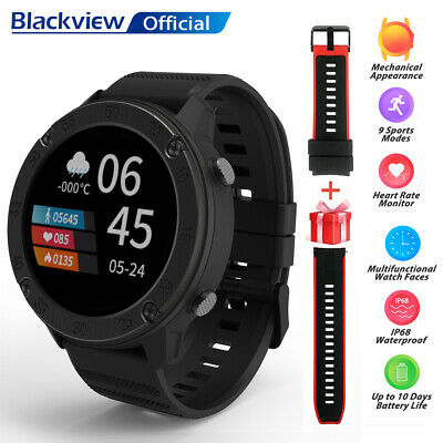 Blackview X5 Smartwatch Orologio Fitness Uomo Donna Tracker per Samsung iPhone