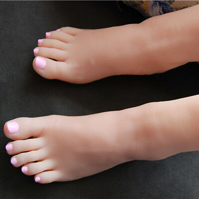 Girl Silicone Foot Modelmannequin Display Shoes 32 A200