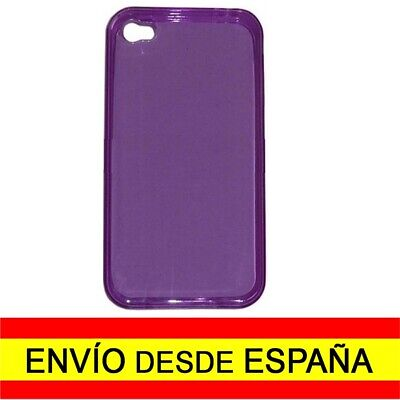 Funda Carcasa iPHONE 4 - iPHONE 4s Protector Color Lila a1166
